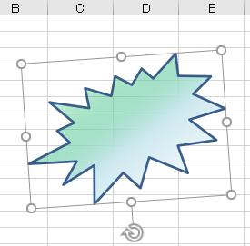 図形 グラデーション36