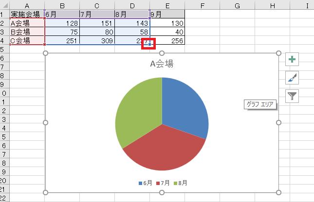 グラフ 参照範囲変更3