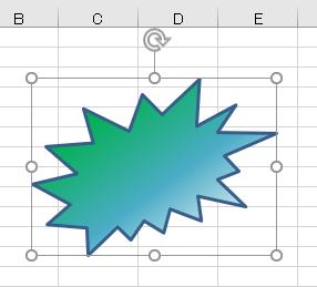 図形 グラデーション29