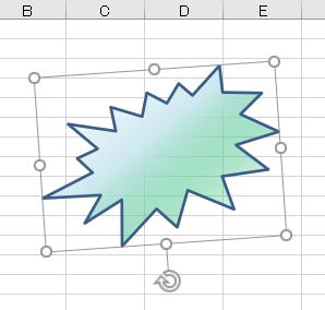 図形 グラデーション35