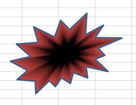 図形 グラデーション23