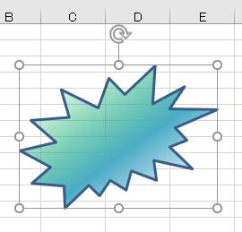 図形 グラデーション32