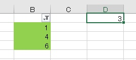 excel 色 カウント9