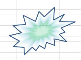 図形 グラデーション37
